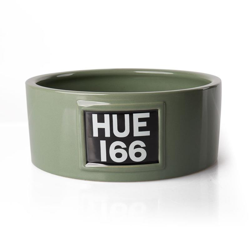 HUE Ceramic Dog Bowl