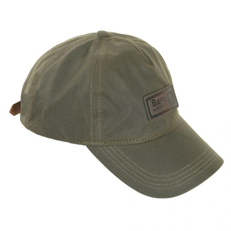 BARBOUR LAND ROVER WAX CAP GREEN